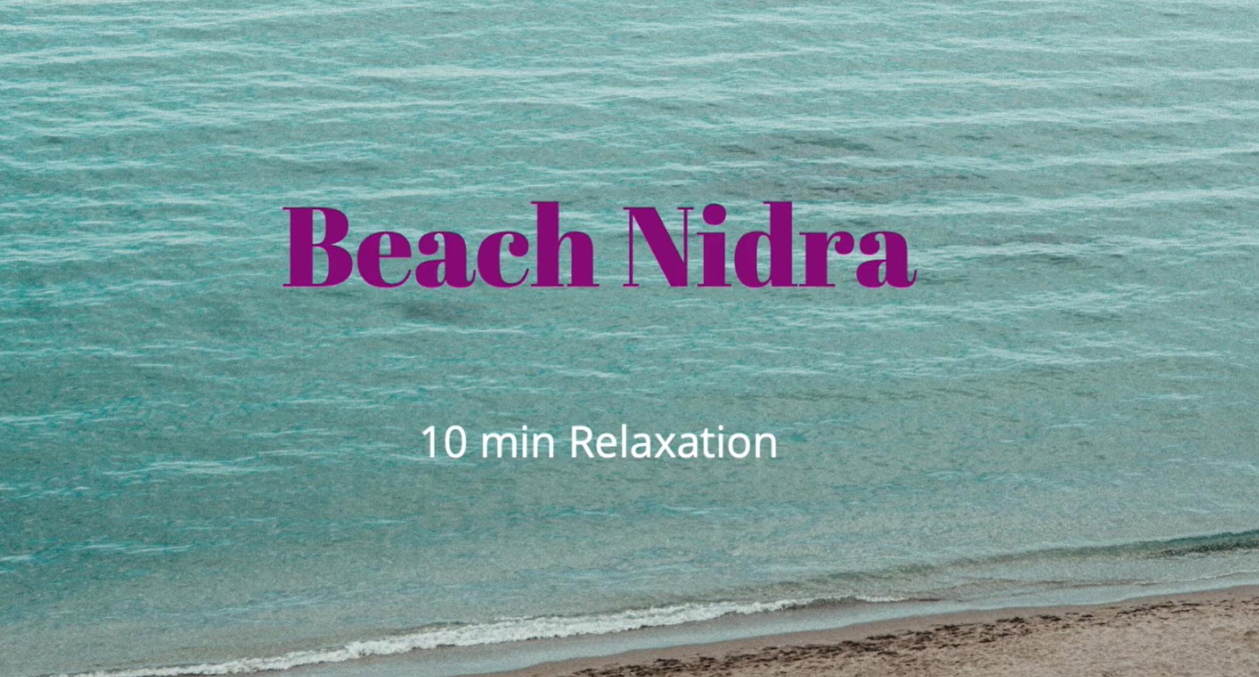 Beach Nidra